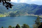Lake Phewa from Shanti Stupa. Pokhara-Nepal. 0693 — Stock Photo