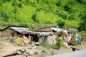 Small hamlet-Prithvi Highway. Aanbu Khaireni-Nepal. 0772 — Stock Photo