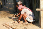 Men at work. Chitwan-Nepal. 0917 — Stock Photo