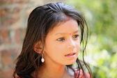 Nepalese young girl. Panauti-Nepal. 1066 — Stock Photo