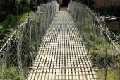 Bridge over Punyamati river. Panauti-Nepal. 1069 — Stock Photo