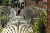 Bridge over Punyamati river. Panauti-Nepal. 1070 — Stock Photo