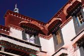 Windows in Drepung monastery. Lhasa-Tibet. 1213 — Fotografia Stock