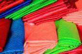 Colorist silk pieces. Lhasa-Tibet. 1337 — Stok fotoğraf