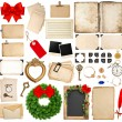 Scrapbooking elements for christmas holidays greetings — Stock Photo #57292299