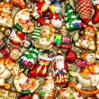 Christmas tree decorations baubles, toys and colorful ornaments — Stock Photo #58979433