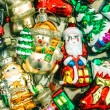 Christmas tree decorations baubles, toys and ornaments — Stock Photo #59019129