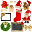Christmas decoration objects — Stock Photo #62689285