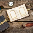 Antique writing accessories — Stock Photo #62749817