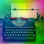 Vintage typewriter. Creativity concept — Stock Photo #62753749