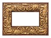 Vintage antique picture frame — Stock Photo