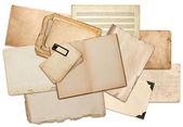 Starych arkuszy papieru — Zdjęcie stockowe
