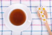 Chamomile tea. — Stock Photo