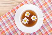 Tea with chamomiles. — Stock Photo