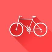 Sport bike. Vector illustration. — Stock Vector