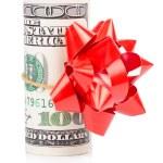 Gift dollar — Stock Photo #67492529