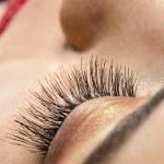 Eyelashes Close up — Stock Photo #75907579