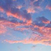 Beautiful sunrise in the clouds — Stock Photo