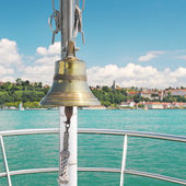 Bell on the ship — Stock Photo