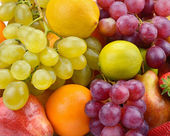Fruit and berries — Stock Photo