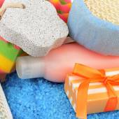 Soap and other personal hygiene products — Stock Photo