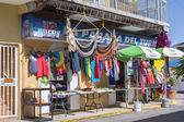 туристический магазин в boqueron, пуэрто-рико — Стоковое фото