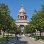 Texas state capitol in Austin — Stock Photo