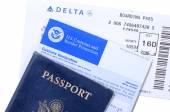 International travel documents — Stock Photo
