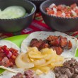 Mexican barbecue — Stock Photo #70541937