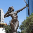 Diana the Hunter bronze statue in Mexico City — Stock Photo #70951261