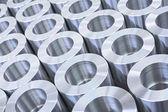 Precision machine parts pattern — Stock Photo