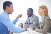 Business meeting — Foto Stock