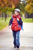 Cute schoolchild — Stock Photo