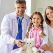 Doctor and patients — Stock Photo #53814333