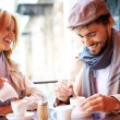 Couple in cafe — Stock Photo #53815755