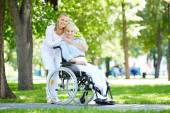 Taking care of patient — Foto Stock