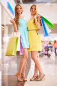Friendly shoppers — Stock Photo
