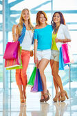 Pretty shoppers — Stock Photo