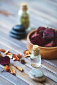 Objects for aromatherapy — Stock Photo