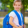 Girl with backpack — Stock Photo #55466597