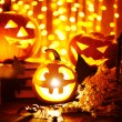 objetos de Halloween — Foto Stock #55479907