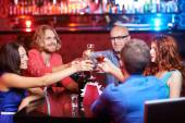 People toasting at party — Stock Photo