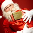 Santa Claus with sack full of gifts — Stock Photo #55487009