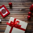 Christmas objects and symbols — Stock Photo #55487591