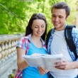 Couple studying map — Stock Photo #55488231