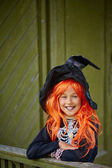 Kind von Halloween — Stockfoto