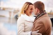 Amorous man and woman — Stock Photo