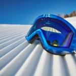 Постер, плакат: Snowboarding goggles