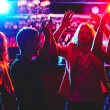 Young people dancing in nightclub — Stock Photo #58583291