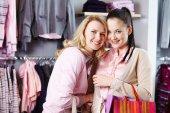 Women in department store — Foto de Stock